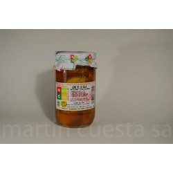 Lomo extra frito en aceite. Tarro de 400g.